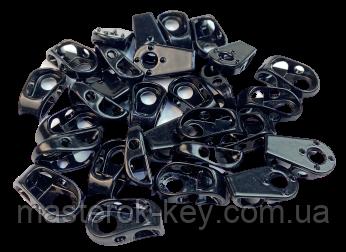 Петля для шнурков А-632 цвет черный