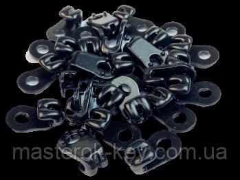 Крючок для шнурков А-613 цвет черный