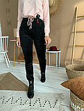 Женские велюровые штаны №1936 на меху (44-58р), фото 2