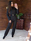 Женский тёплый комбинезон с капюшоном, фото 8