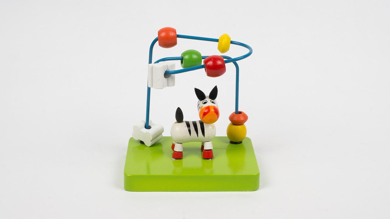 Деревянная игрушка Лабиринт. MD 2130. На проволоке.