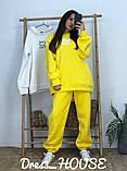 Женский теплый костюм с объёмным свитшотом с капюшоном, фото 7