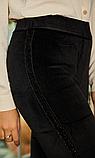 Женские велюровые лосины №1924 на меху (44-50р), фото 3