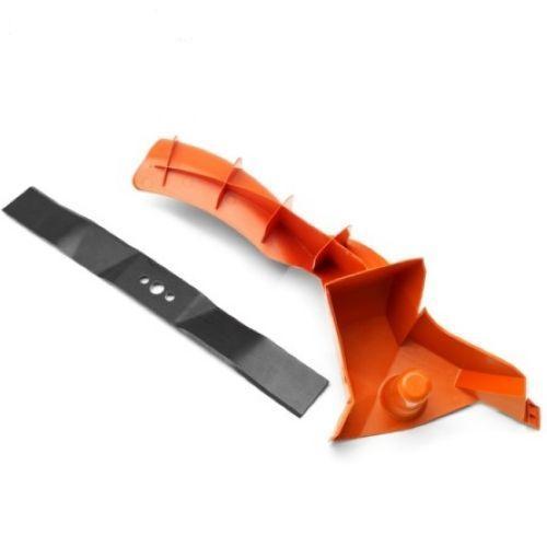 Нож и заглушка для мульчирования для газонокосилки Husqvarna LC 348 V (5820444-01)