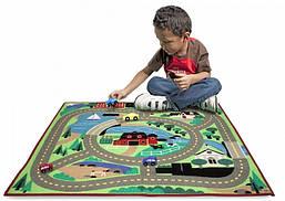Игровой коврик с машинками Городская дорога Melissa&Doug (MD19400)