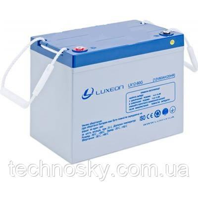 Гелевый аккумулятор GEL-VRLA Luxeon LX12-60G