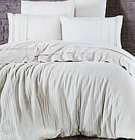 Комплект постельного белья First Choice De Luxe ранфорс крем