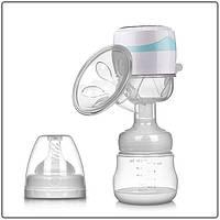 Електричний двофазний молоковідсмоктувач Baby Milk 3 в 1 з акумулятором (дорожний)