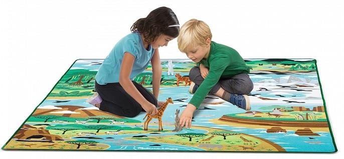 Ігровий килимок з тваринами Подорож по світу Melіssa&Doug (MD15192)