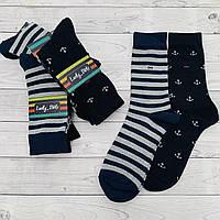 Носки мужские длинные Lucky Socks 41-45 р. гладь, классические