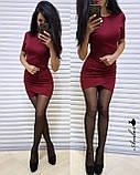 Женское облегающее платье, фото 4