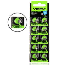 Батарейка таблетка Videx для часов LR626 / AG4 литиевая