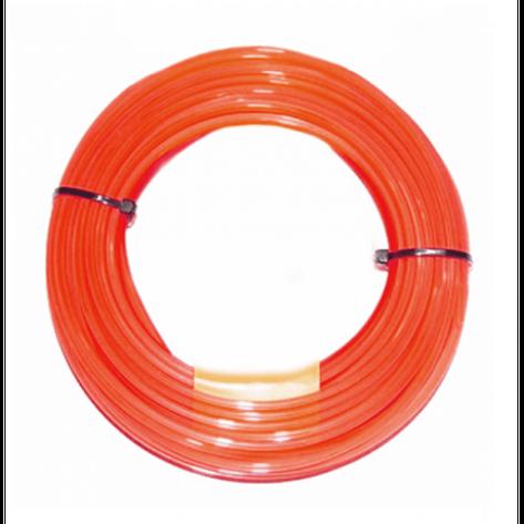 Леска для триммеров Husqvarna 3.0/240м Quadra Spool Red, фото 2
