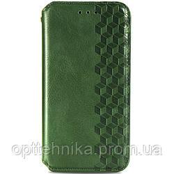Кожаный чехол книжка GETMAN Cubic (PU) для Xiaomi Mi 10 Ultra