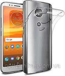 TPU чехол Epic Transparent 1,0mm для Motorola Moto E5 / G6 Play