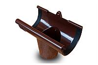 Воронка сливная RAINWAY 90 мм, водосточная система RAINWAY, Цвет RAL 8017 коричневый.