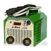 Сварочный инвертор АТОМ I-250D с комплектом сварочных кабелей КГ-25 (вариант X)