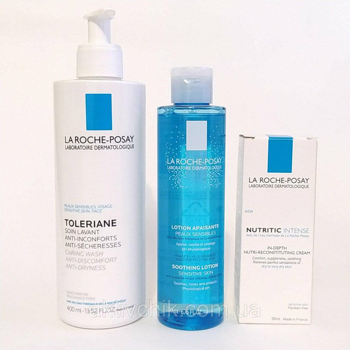 Набор La Roche-Posay для ухода за сухой кожи с Nutritic Intense