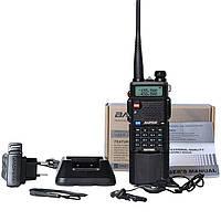 Рация, радиостанция Baofeng UV-5R с Батареей 3800mAh + Гарнитура.