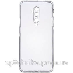 TPU чехол GETMAN Transparent 1,0 mm для OnePlus 7T Pro
