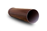 Труба RainWay 75х3000 мм водосточная, водосточная система RainWay, Цвет RAL 8017 коричневый.