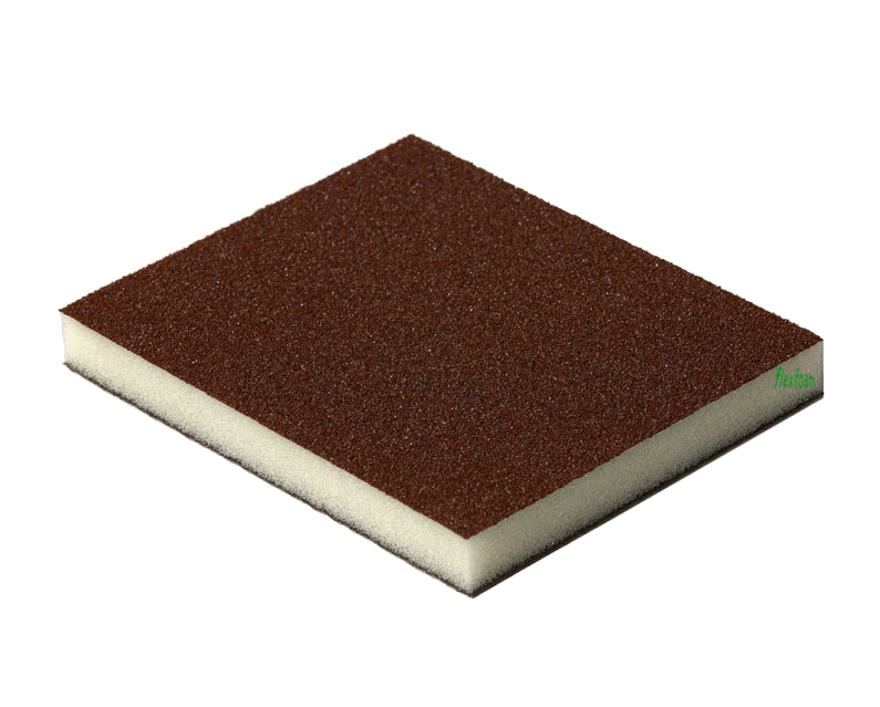 2-х сторонняя абразивная губка Flexifoam Red Soft Pad CAO
