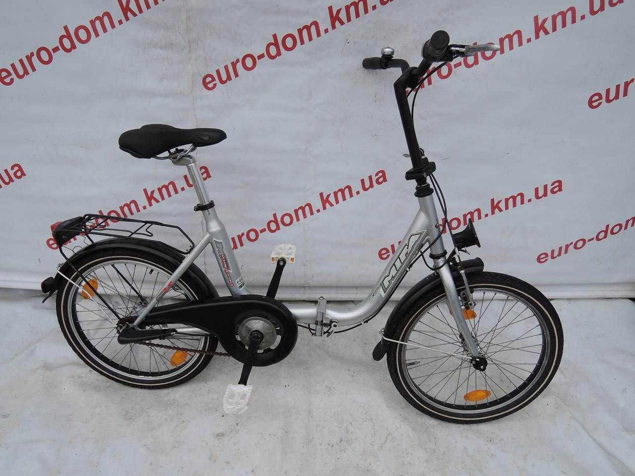 Городской велосипед Mifa 20 колеса 3 скорости на планитарке (Складной).