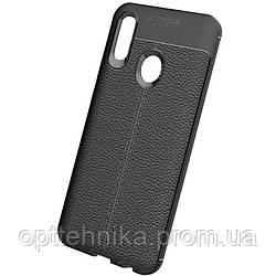 TPU чехол фактурный (с имитацией кожи) для Huawei P Smart Z