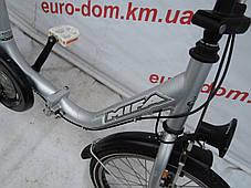 Городской велосипед Mifa 20 колеса 3 скорости на планитарке (Складной)., фото 2