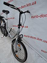 Городской велосипед Mifa 20 колеса 3 скорости на планитарке (Складной)., фото 3