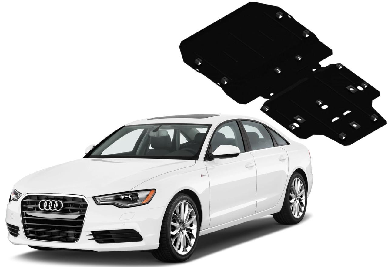 Защита двигателя Audi A6 C7 2011-2018