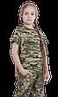 Футболка детская камуфлированная Пиксель, фото 2