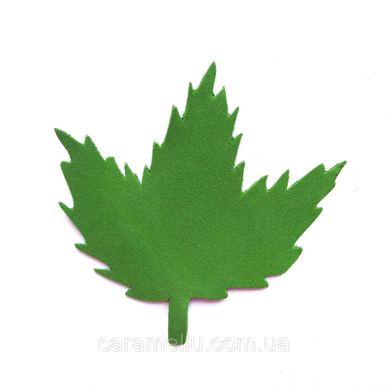 Лист калины 9*9 см.