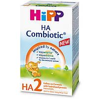 Смесь молочная сухая гипоаллергенная HA Combiotic 2 6м+ 350г Hipp Германия 2148