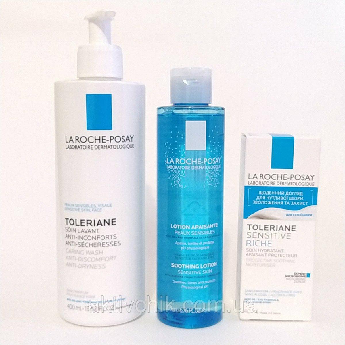 Набор La Roche-Posay Toleriane Sensitive Riche для сухой чувствительной кожи