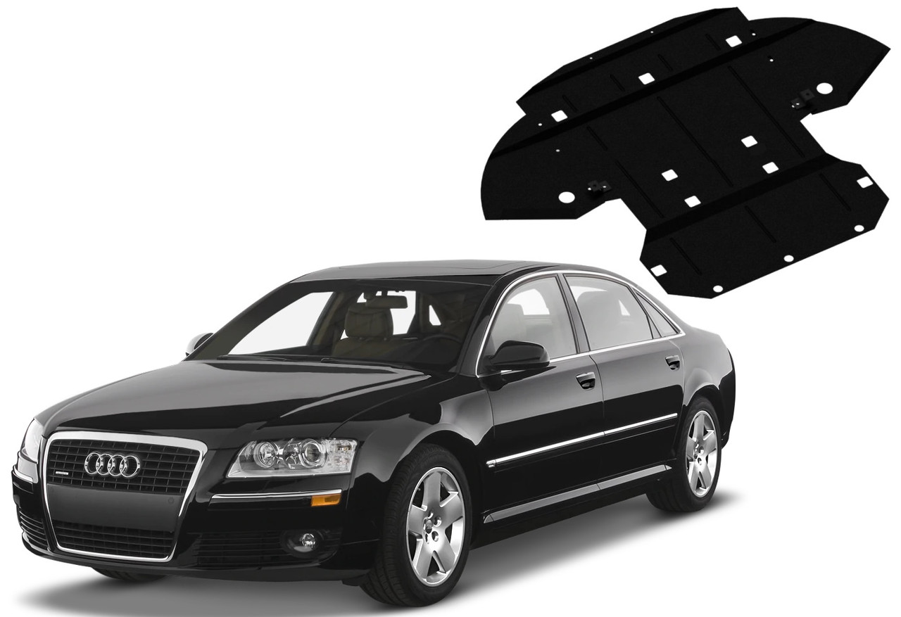 Защита двигателя Audi A8 D3 2002-2010