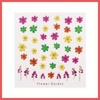 3D слайдер для дизайна ногтей Design Nail Applique - Flower Garden - Pure Love