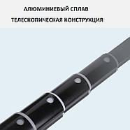 1,65м Селфи палка +Стойка / штатив для смартфона, телефона, айфона, LED панелей, кольцевого света PULUZ PU450B, фото 6