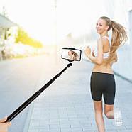 1,65м Селфи палка +Стойка / штатив для смартфона, телефона, айфона, LED панелей, кольцевого света PULUZ PU450B, фото 2