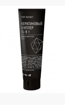 Кератиновый филлер для волос 10в1 Concept Top Secret Keratin Hair Filler (100мл.)
