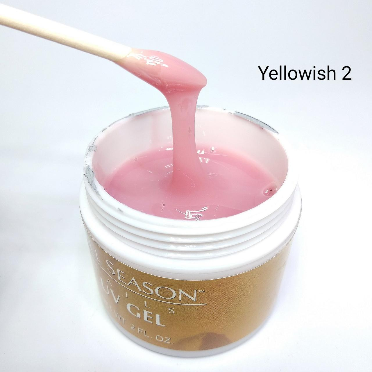 Гель камуфляжный All Season, Yellowish 2, 60мл