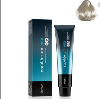 Крем-краска для волос 0/00 осветлитель бесцветный Erayba Equilibrium Hair Color Cream, 120 мл