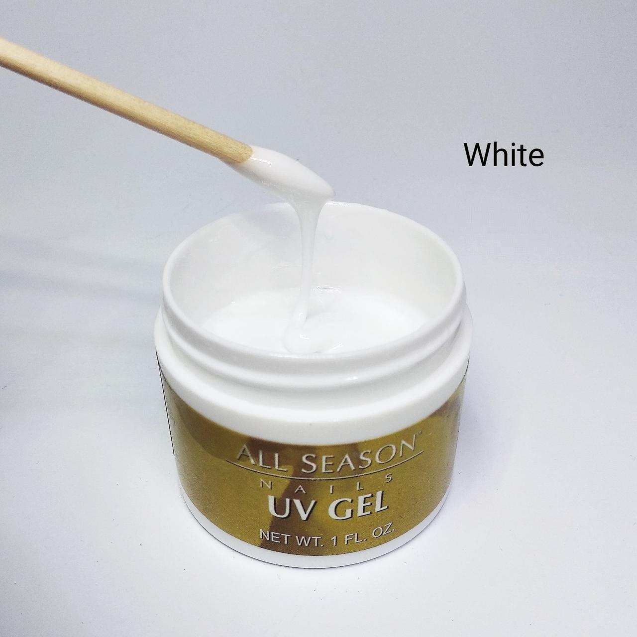 Гель білий All Season, White 60мл