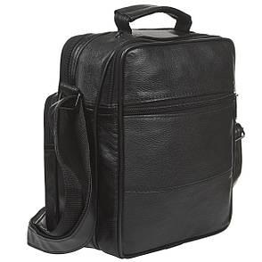 Мужская сумка BagHouse 25х20х12,5 вертикальная комбинированая кс510, фото 2