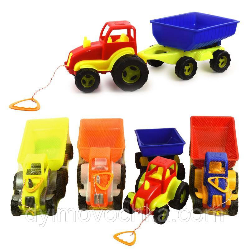 Игрушка трактор с прицепом MAX 5013