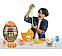 Игровой набор Danko Toys Dino WOW Box яйцо динозавра с аксессуарами 35х25х25 см, фото 2