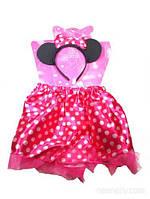 Детский карнавальный костюм минни маус для девочки