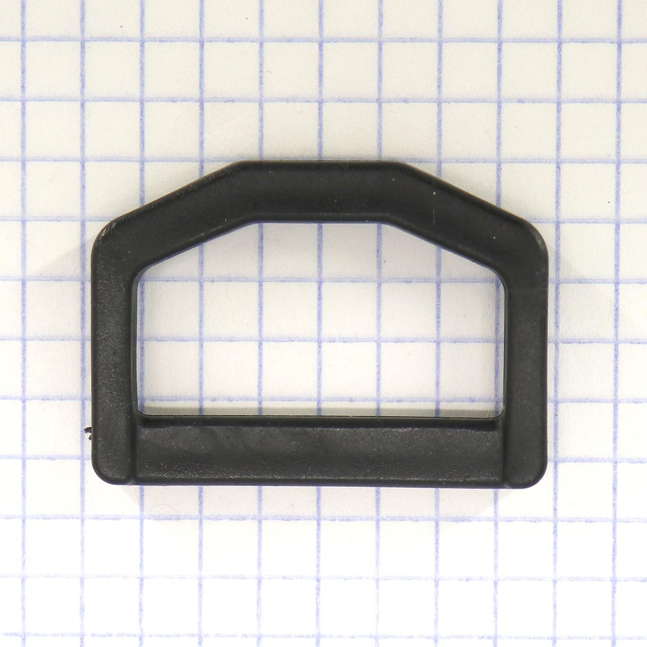 Полукольцо 30 мм пластиковое для сумок t5552A (50 шт.)