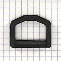 Полукольцо 25 мм пластиковое для сумок t5553A (50 шт.)