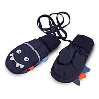 Термоварежки детские.Варежки для мальчика из плащевки TuTu арт. 3-005097 (1-2, 2-4 года)